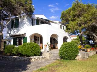 Front line villa for sale in West Menorca