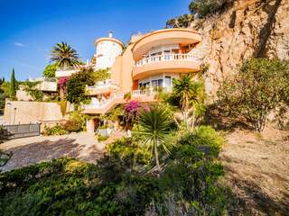 Seafront Costa Brava villa for sale in Lloret de Mar