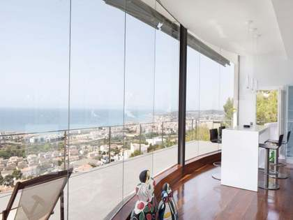 Luxury house for sale in Sitges, near Barcelona.