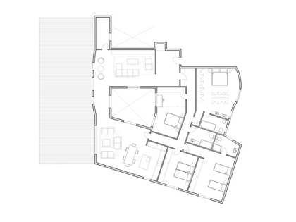 245 m² penthouse with a terrace for sale in Sant Francesc