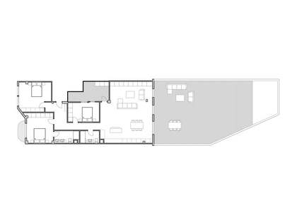 Appartement van 133m² te koop met 118m² terras in El Pla del Remei