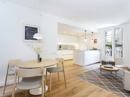 New build 100 m² apartment for sale in the Gothic area, Barcelona