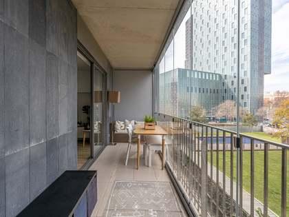 Квартира 70m², 15m² террасa на продажу в Побленоу