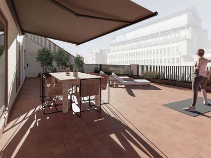 Пентхаус 111m², 113m² террасa на продажу в Правый Эшампле