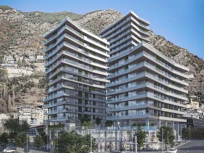 131m² Apartment with 100m² terrace for sale in Escaldes