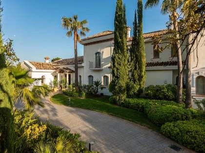 Villa de 820m² con 35m² de terraza en venta en La Zagaleta
