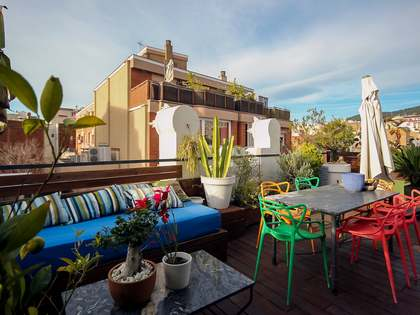 Penthouse van 48m² te koop met 85m² terras in El Putxet