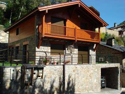 Valle de Ordino. Andorra. Casa de estilo rústico en venta.