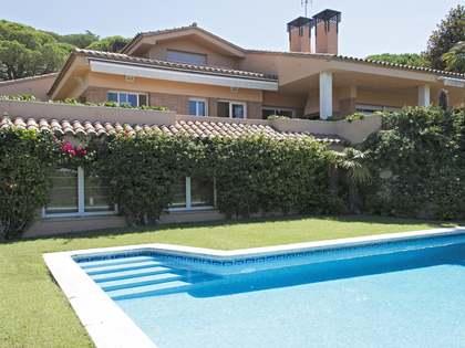 Casa con vistas al mar en venta en Cabrils, Costa Maresme