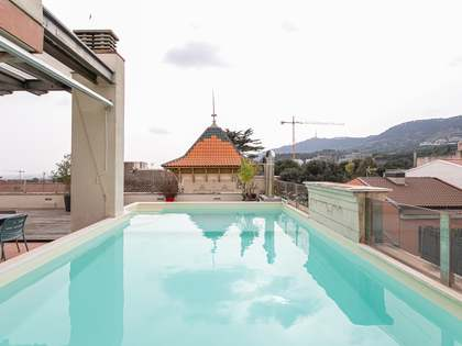 Penthouse van 192m² te koop met 158m² terras in Sarrià