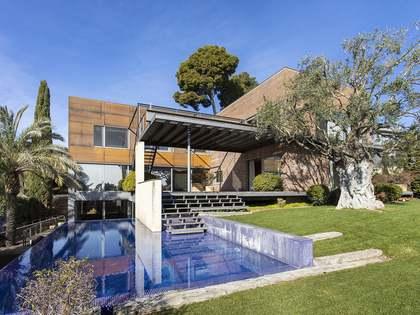 Casa / Villa de 961m² con 1,450m² de jardín en alquiler en Sant Gervasi - La Bonanova