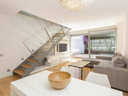 Duplex loft with a large terrace for sale in Eixample