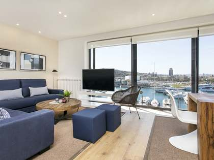 100 m² penthouse for rent in Barceloneta, Barcelona