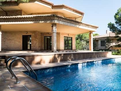 New 6-bedroom villa for rent in La Eliana Valencia