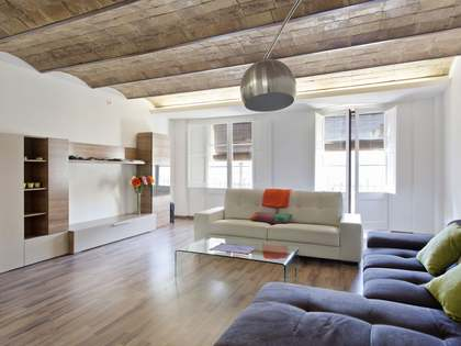 Renovated apartment for rent in the Old Town Barcelona
