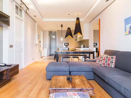 Design and style in this apartment for rent in Gracia