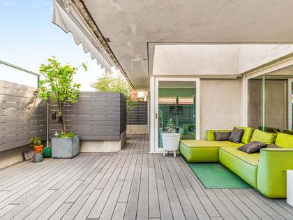 340m² Penthouse with 115m² terrace for sale in Tres Torres