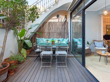 126 m² apartment with a terrace for sale in Eixample Right