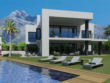 5-bedroom modern villa for sale in Golden Mile, Marbella