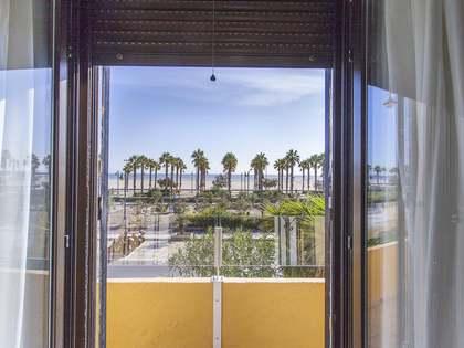Piso de 120m² con 20m² terraza en alquiler en Playa de la Malvarrosa