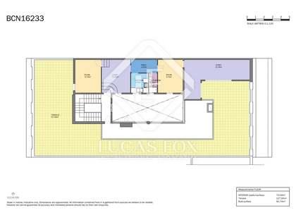 Ático con 127 m² de terraza en venta en Eixample Izquierdo