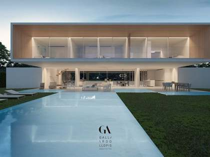 New modern villa with a pool for sale in Rocafort