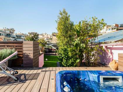 263m² Penthouse with 118m² terrace for sale in Sant Gervasi - Galvany