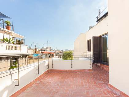 Very stylish duplex penthouse for sale in El Born, Barcelona