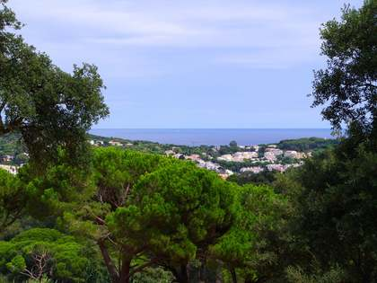 Sea view building plot to buy in Sant Feliu de Guixols