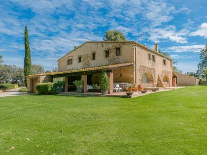 Girona country estate in a prime location of the Costa Brava