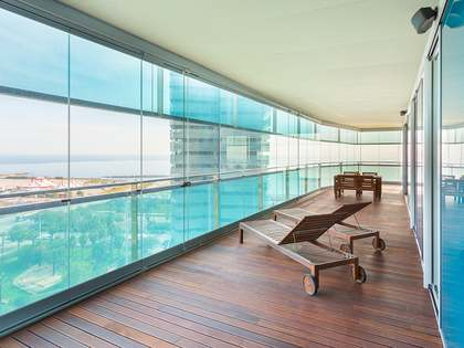 95 m² apartment with 73 m² terrace for sale in Diagonal Mar