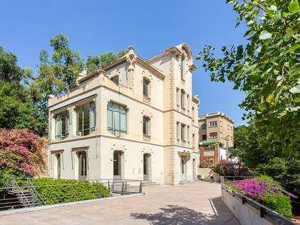 Modernista house to renovate in Barcelona's Zona Alta