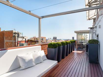 177m² Penthouse with 77m² terrace for sale in Sant Gervasi - Galvany