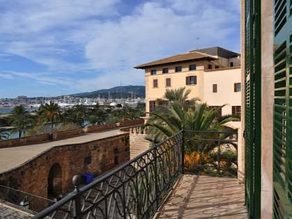 Precioso apartamento histórico en venta en Palma, Mallorca.