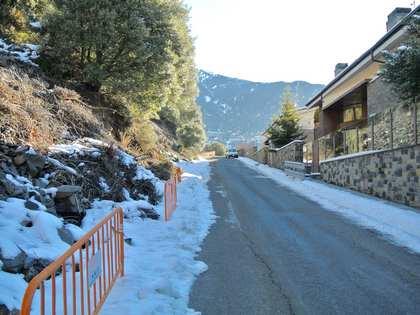 Parcela de 493m² con vistas en venta en Andorra la Vella
