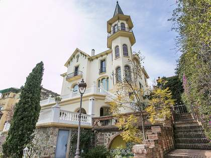 Mansion house for sale in Barcelona's Sant Gervasi district