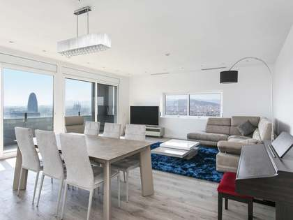 125m² penthouse with 20m² terrace for rent in Poblenou