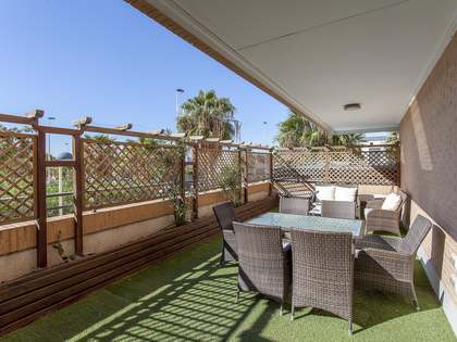 140m² Apartment with 60m² terrace for rent in Patacona / Alboraya