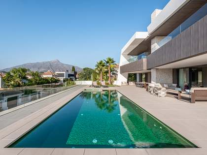 Luxury villa to be built for sale in Marbella's Golf Valley