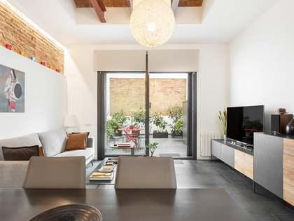 Appartamento di 94m² con 26m² terrazza in vendita a Gràcia