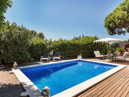 Villa de 192m² con jardín de 535m² en venta en Sant Cugat