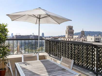 2-bedroom furnished apartment for rent on Paseo de Gracia