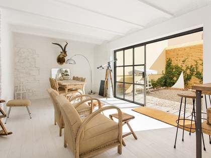 Appartement de 200m² a vendre à Gràcia avec 70m² de jardin