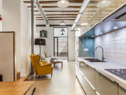 Квартира 100m², 54m² Сад на продажу в Раваль, Барселона