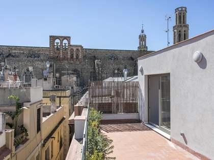 Impresionante ático con terrazas en venta en El Born