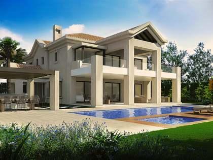 Gloed nieuwe luxe villa te koop in Golden Mile, Marbella.