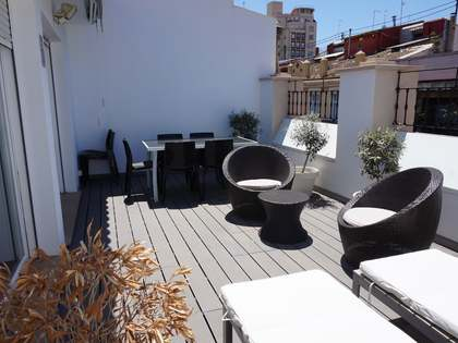 117m² apartment with terrace for rent in El Pla del Remei