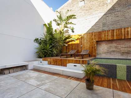 Casa con 54 m² de jardín en venta en Playa de la Malvarrosa