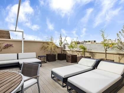 Appartamento di 350m² con 85m² terrazza in affitto a Sant Gervasi - Galvany
