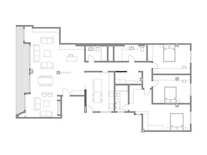 211m² Lägenhet med 10m² terrass till salu i El Pla del Real